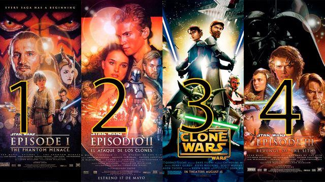 Al Fin La Forma Correcta De Ver Todas Las Películas De Star Wars Enterate24 Com